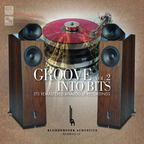 Groove Into Bits, Volume 2 STS Digital MW CD