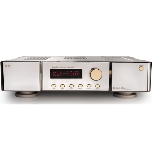 Bricasti M12 Dual Mono Source Controller - Platinum Series