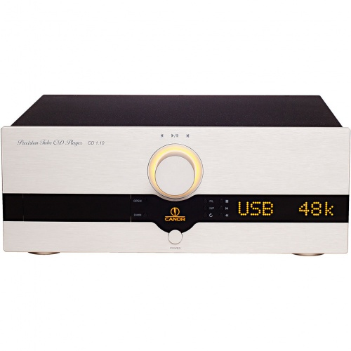 CANOR CD 1.10 Precision Tube CD Player & DAC