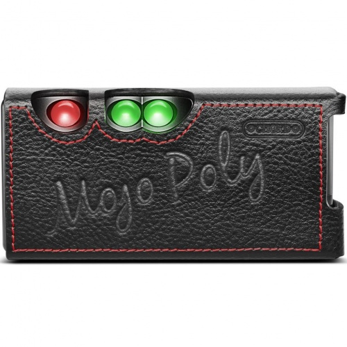 Chord Mojo/Poly Premium Leather Case (Black)