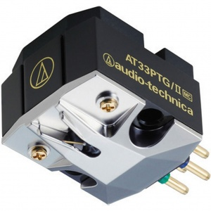Audio Technica AT33PTGII Dual Moving Coil Cartridge