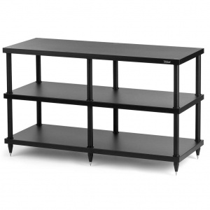 Solidsteel S4-3 Three Shelf Hi-Fi Audio & TV Rack
